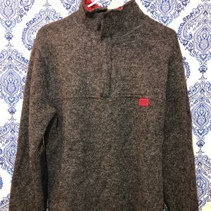 🎉🎉men Abercrombie and Fitch wool zip up sweater